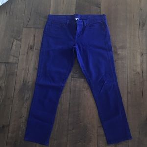 J. Crew toothpick ankle jeans, size 31